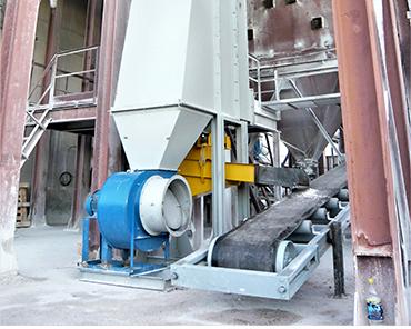 Сушильная установка сушки минерала брусит 4т/ч с охладителем